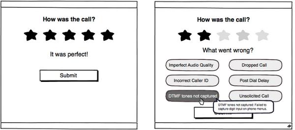 通話品質UI